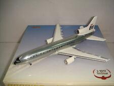"Jet-X 400 Braniff International Tristar L-1011 ""Chrome - Jellybean"" 1:400 N109BN"