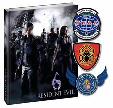 RESIDENT EVIL 6 LIMITED COLLECTOR'S EDITION OFFICIAL STRATEGY GAME GUIDE NEW