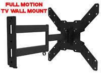 Corner Full Motion TV Wall Mount Articulating Bracket 32 47 50 55 Inch LED LCD