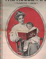 The Housewife Magazine March 1909 Hilda Richmond Willis Boyd Allen