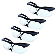 4x HQRP Safety Glasses Eyewear UV Protecting for Shooting Gun range Racquetball
