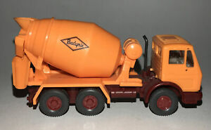 HO Scale Wiking Ready Mix Cement Truck • Perfect on Construction Site or Roadway