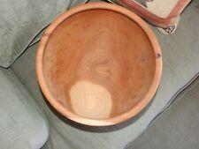 New listing Large Black Cherry Wood Bowl
