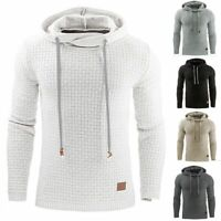 Mens Premium Athletic Soft Sherpa Lined Fleece Hoodie Coat Casual Sweater Jacket