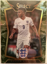 2015 Panini Select Soccer Camo #32 Raheem Sterling 070/249 England