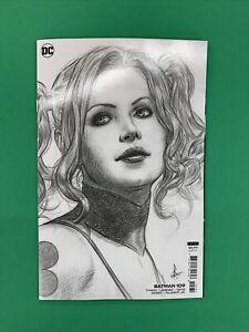 Batman #109 1:25 Federici Black and White Sketch Variant DC 2021