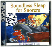 Soundless Sleep for Snorers CD. Stop snoring sing away your snores NEW & WRAPPED