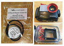 O-ring & Silicone Grease Kit for Olympus PT-48 Diving Underwater Housing Case