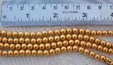 20 pcs. HANDMADE 22 KARAT ANTIQUE STYLE GOLD BEADS 5 mm