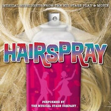 Hairspray : Musical Highlights - The Musical Stage Company (CD, 2007)