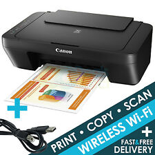 Canon PIXMA MG3050 All-In-One Wireless WiFi Inkjet Printer Only Deal + USB Cable