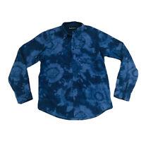 Deus Ex Machina Button Down Tie Die Shirt Men's Size Medium