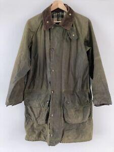 Barbour Gamefair Waxed Jacket S/M Chest 36 Vintage/Retro