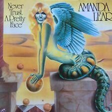 VINYLE - AMANDA LEAR Never Trust a Pretty Face 1979 Disque Album - 33T LP