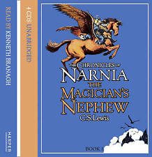 The Magician's Nephew (The Chronicles of Narnia, Book 1) 4 CD AUDIO NEW SEALED
