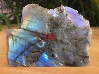 Polished Labradorite Specimen Gemstone Slab Crystal Reiki Chakra Madagascar