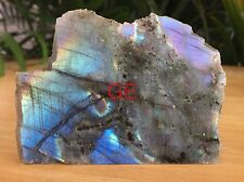 Raw Polished Labradorite Specimen Gemstone Crystal Reiki Chakra Madagascar.