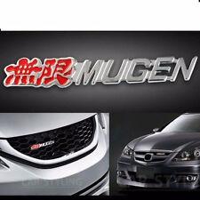 New JDM 3D Metal MUGEN GRILL BADGE Front Grille Emblem MUGEN