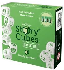 Rory's Story Cubes Primal | Imaginative Storytelling | Family Dice Game