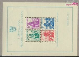 Yugoslavia block1 (complete issue) unmounted mint / never hinged 1937  (9477674