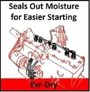 Evr-Dry Spark Plug Wires for 1946-1954 Plymouth