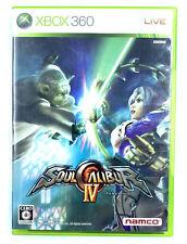 Jeu Xbox 360 Soul Calibur IV 4 Import Japonais avec notice NTSC-J