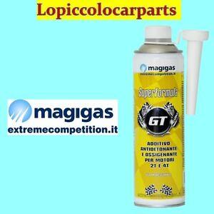 MAGIGAS GT ADDITIVO NEW FORMULA lt 0.5 OSSIGENANTE AUMENTA GLI OTTANI ETC