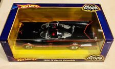 🏁 HOT WHEELS 1966 TV SERIES BATMOBILE 1:18 SCALE IN FACTORY SEALED BOX 🏁