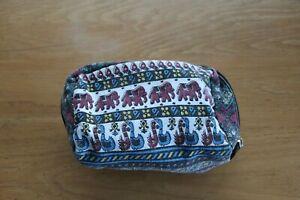 Urban Outfitters Elephant Print Make Up Bag