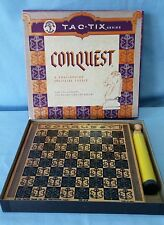 Vintage Solitaire Conquest Puzzle Board Game Pacific Game Co. 1967