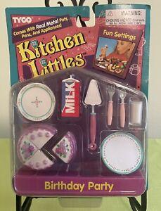 Tyco Kitchen Littles Birthday Party Set