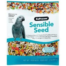 ZUPREEM SENSIBLE SEED WITH SMART PELLETS FOR MED/LARGE PARROTS - 2LB (907G)
