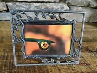 Intercraft Company 3.5 x 5 Pewter Open Vine Design Photo Picture Frame Unique Fr