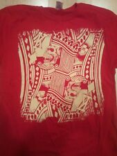 Red King of Diamonds T-Shirt by High Roller Clothing