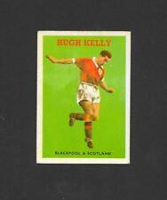ABC Gum, Footballers, Quiz, #16 Hugh Kelly, Blackpool FC 1959