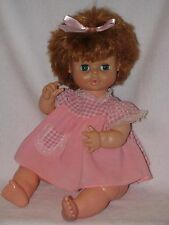 """18"""" Red Haired Doll Made By Lorrie Doll Co. 1974"""