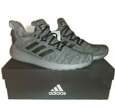 Adidas Men's Size 12 Lite Racer BYD Running Shoes  GRAY Athletic Sneakers NIB