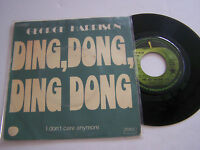 SP 2 TITRES VINYL 45T , GEORGE HARRISON , DING , DONG . VG  / VG + . APPLE 5770