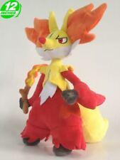 """RARE 12"""" Anime Halloween Monster Delphox Plush Doll - PNPL8207"""