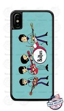Beatles Cartoon Animated Phone Case Cover For iPhone Samsung Google LG