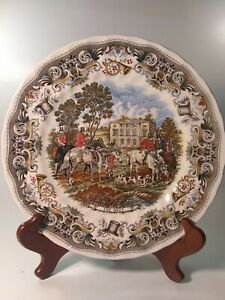 """Heritage Mint Limited By Churchill 10"""" Dinner Plate made in England discontinued"""