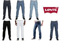 Levis 501 Original Fit Jeans Straight Leg Levi's Men's Button Fly 100% Cotton