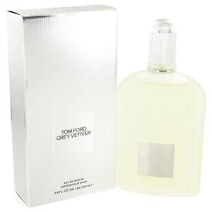TOM FORD GREY VETIVER MEN * 3.4 oz (100ml) Eau de Parfum EDP Spray NEW & SEALED