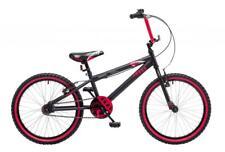 "Concept Shark Boys Junior BMX Bike Bicycle 9.5"" Frame 20"" Wheel Black CN141"