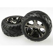 Traxxas TRA3773A Black-Chrome All-Star 2.8 Wheels/Anaconda Tires/2 Electric Rear
