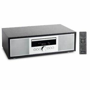 MEDION LIFE P64145 All-in-One Audio Hifi System silber DAB+ Radio CD Player USB