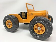 Tonka Jeep Dune Buggy Vintage Yellow Pressed Steel with MR-970 Wheels