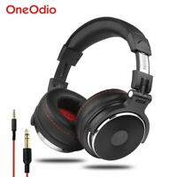 Oneodio - Wired Professional Studio Pro DJ Headphones With Microphone Over Ear