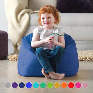 Kids Bean Bag Tub Chair Children Filled Small BeanBag Indoor Outdoor Garden Seat