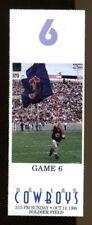 1998 Chicago Bears v Dallas Cowboys Ticket 10/18 Soldier Field 39377